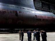 उत्तर कोरियाची पाणबुडी सज्ज, क्षेपणास्त्र डागण्याचीही क्षमता; जगभरातून निगराणी|विदेश,International - Divya Marathi