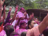 भाजपच्या समाधान औताडेंकडून राष्ट्रवादीच्या भगीरथ भालकेंचा 3716 मतांनी पराभव निवडणूक 2021,Election 2021 - Divya Marathi