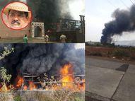 नितीन चंद्रकांत देसाईंच्या ND स्टुडिओला भीषण आग, 'जोधा अकबर'चा सेट आगीत जळून खाक; आगीचे नेमके कारण आले समोर|बॉलिवूड,Bollywood - Divya Marathi