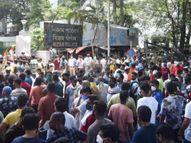 मंत्र्यांच्या अटकेनंतर भडकले तृणमूल समर्थक, CRPF जवान आणि CBI ऑफिसवर दगडफेक, ममतांविरुद्ध FIR|देश,National - Divya Marathi