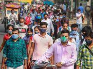 देशातील 90% जिल्ह्यात अॅक्टिव्ह केस कमी झाल्या, मागील आठवड्यात 70 जिल्ह्यात उपचार घेत असलेल्या रुग्णांची संख्या वाढली|देश,National - Divya Marathi