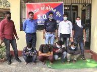 ATSએ વલસાડમાંથી 27.43 લાખનું 274 ગ્રામ MD ડ્રગ્સ સાથે 4ને ઝડપી લીધા,નવસારીમાં કિશોરીના મરજી વિરૂધ્ધના લગ્ન અટકાવાયા|આહવા,Ahwa - Gujarati News