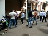 SMCએ દિવાળી તહેવારોમાં તમાશો જોયો હવે બંધ કરાવવા નીકળ્યું, ચૌટા બજાર બંધ કરાવ્યું|સુરત,Surat - Gujarati News