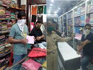 રાજકોટના ગુંદાવાડી અને ધર્મેન્દ્ર રોડ પર માસ્ક વગર ફરતા લોકો સામે મનપાની ટીમ એક્શનમાં આવી, માસ્ક વગરના 41 વ્યક્તિ પાસેથી 41 હજારનો દંડ વસુલ્યો|રાજકોટ,Rajkot - Gujarati News