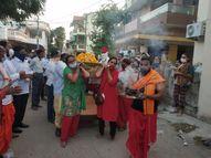 4 પુત્રીએ પુત્ર બની પિતાને કાંધ આપી ગોધરા,Godhra - Gujarati News