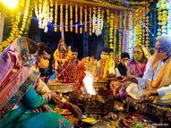 દેવઉઠી અગીયારસના શુભ દિને દ્વારકાધીશ મંદિરમાં ઉજવણી કરવામાં આવી|દ્વારકા,Dwarka - Gujarati News