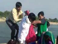 108ની ટીમે કેનાલમાં આપઘાત કરતી મહિલાને બચાવી, સલીમગઢ પાસે નર્મદા કેનાલમાં એક અજાણી મહિલાએ છલાંગ લગાવી હતી|દિયોદર,Deodar - Gujarati News