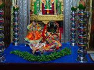 દ્વારકા જગત મંદિરમાં દેવદિવાળીના ઠાકોરજીની સાથે તુલસીજીના વિવાહ|દ્વારકા,Dwarka - Gujarati News
