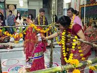 સંખેડા અને બોડેલીની દ્વારકાધીશ હવેલીમાં ભગવાનના તુલસીજી સાથે વિવાહ યોજાયાં|સંખેડા,Sankheda - Gujarati News