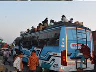 કોરોના કાળમાં રોજગારી માટે આવી રહેલા શ્રમિકો|ભરૂચ,Bharuch - Gujarati News