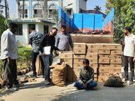 છોટાઉદેપુરમાં ટ્રકમાં છુપાવેલા વિદેશી દારૂ સાથે એક બૂટલેગરની ધરપકડ|છોટા ઉદેપુર,Chhota Udaipur - Gujarati News