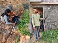 સુત્રાપાડાના 200 પરિવારનો પીવાના પાણીના પ્રશ્નનો ઉકેલ, 3 કિ.મી. લાંબી લાઇન નાંખી ઘરે ઘરે નળ કનેકશન અપાયા|વેરાવળ,Veraval - Gujarati News