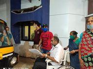 નવસારીમાં શ્રમજીવી પરિવારને હ્યુમાનિટી ગૃપે શ્રવણ બની ઉગાર્યુ|નવસારી,Navsari - Gujarati News