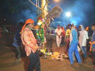 ડાંગમાં પુરૂષોની ડુંગર દેવને પ્રસન્ન કરવા પૂજા-અર્ચના|આહવા,Ahwa - Gujarati News