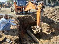 પાણી, ગટર શાખાના પાપે કરોડોના ખર્ચે બનેલાના રોડનો સત્યાનાશ|ભુજ,Bhuj - Gujarati News
