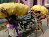 છોટાઉદેપુરમાં પેટનો ખાડો પુરવા માટે મજૂરી કરતાં ભૂલકાઓ|છોટા ઉદેપુર,Chhota Udaipur - Gujarati News