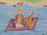 ગુરૂનાનક સાહેબે 501 વર્ષ પહેલાં ચાદર પર બેસી નર્મદા પાર કરી,ગુરુદ્વારાને ચાદરસાહીબ નામ મળ્યું|ભરૂચ,Bharuch - Gujarati News
