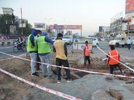 અંડરપાસના કામને લઇ આગામી સપ્તાહમાં મોઢેરા સર્કલથી ગાયત્રી મંદિર બાજુનો મેઇન રોડ બંધ થશે|મહેસાણા,Mehsana - Gujarati News