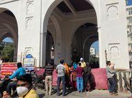 માંડવી ખાતે ભક્તોએ સોશિયલ ડિસ્ટન્સ જાળવી મેલડી માતાના દર્શનનો લાભ લીધો|વડોદરા,Vadodara - Gujarati News
