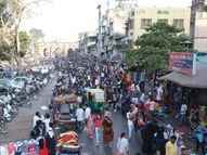 ભદ્રમાં ફરી એકવખત ભીડ ઊમટી, આ બેદરકારી ભારે પડી શકે!|અમદાવાદ,Ahmedabad - Gujarati News