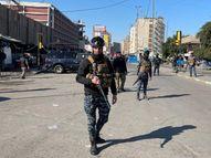 ઈરાકમાં બે આત્મઘાતી હુમલામાં 21 લોકોના મોત, 53થી વધારે લોકો ઘાયલ, વીડિયોમાં કેદ થઈ સમગ્ર ઘટના|વર્લ્ડ,International - Divya Bhaskar