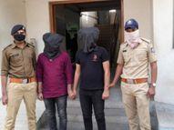 મોરબીના જાંબુડિયા પાસેથી દારૂ ભરેલી સ્કોર્પિઓ સાથે પકડાયેલા રાજકોટના બંને પોલીસ કર્મી સસ્પેન્ડ|મોરબી,Morbi - Divya Bhaskar