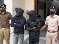 મોરબી કંડલા બાયપાસ પર આતંક મચાવી લૂંટ કરનાર બે આરોપી પકડાયા|મોરબી,Morbi - Divya Bhaskar