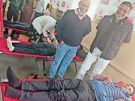 નવસારીમાં સુભાષચંદ્ર બોઝની જન્મજયંતીએ શિક્ષકોનું મહાદાન : 125 યુનિટ રક્ત એકત્ર|નવસારી,Navsari - Divya Bhaskar