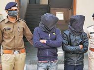 મોરબી-નવલખી બાયપાસ પાસે લૂંટ કરનાર બે લૂંટારુ પોલીસ સકંજામાં|મોરબી,Morbi - Divya Bhaskar