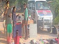 ખાપરીયાના બાળકોએ ફરતી પ્રયોગશાળાનું નિદર્શન માણ્યું|નવસારી,Navsari - Divya Bhaskar