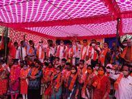 સ્થાનિક સ્વરાજની ચૂંટણીની જાહેરાત થતાંજ ડાંગ જિલ્લા કોંગ્રેસને મોટો ઝટકો, 100 જેટલા કાર્યકરો ભાજપમાં જોડાયા|નવસારી,Navsari - Divya Bhaskar