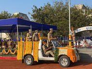 અમદાવાદમાં શાહિબાગ પોલીસ સ્ટેડિયમમાં 72મા પ્રજાસત્તાક પર્વની ઉજવણી કરાઈ, પાંચ પોલીસ જવાનોને મેડલ આપીને સન્માનિત કરવામાં આવ્યા|અમદાવાદ,Ahmedabad - Divya Bhaskar