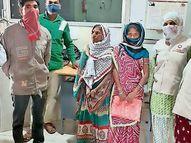 ભરૂચના પગુથણ ગામથી ગુમ થયેલા 70 વર્ષીય વૃધ્ધાનું 10 મહિના બાદ પુત્રી સાથે મિલન કરાયું|ભરૂચ,Bharuch - Divya Bhaskar