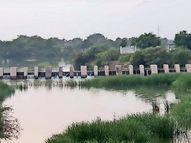 વલભીપુર ઘેલો નદીનાં ચેકડેમની સ્થિતિ જૈસે થે|ભાવનગર,Bhavnagar - Divya Bhaskar