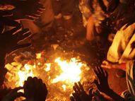 શહેરમાં છવાયેલી શીતલહેર, રાત્રે તાપમાન ઘટીને 11.7 ડિગ્રી થયું|ભાવનગર,Bhavnagar - Divya Bhaskar