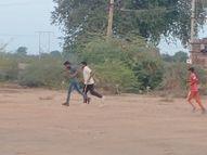 ખોડુના યુવાનો હવે મેદાનમાં આર્મી , અને પોલીસ ભરતીની તૈયારી કરશે|સુરેન્દ્રનગર,Surendranagar - Divya Bhaskar