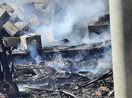 વીજ કચેરી પરિસરના ફીડરમાં આગ, અડધા શહેરમાં પાવર કટ|ભુજ,Bhuj - Divya Bhaskar