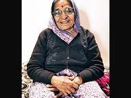 મારું જ ઘર મારા પર પડ્યું,બચી ગઇ પણ એક આંખ કાયમ માટે જતી રહી|ભુજ,Bhuj - Divya Bhaskar