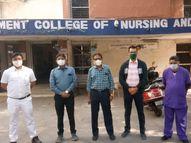 કચ્છ-ભુજમાં ભૂકંપે મચાવેલી તબાહીના ત્રીજા દિવસે જ સુરતથી મેડિકલ સ્ટાફ પહોંચી ગયેલો, તારાજીનાં દૃશ્યોને સારવાર કરનાર નર્સિંગ સ્ટાફ હજુ પણ ભૂલ્યો નથી|સુરત,Surat - Divya Bhaskar