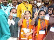 ભાવનગરમાં ભાજપના 33 નવા ઉમદેવારો જીત્યા, કોંગ્રેસના ગઢના ભાજપે કાંગરા ખેરવ્યા|પાલિકા-પંચાયત ચૂંટણી,Municipal Election - Divya Bhaskar