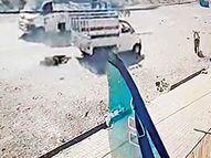 સુરતના કડોદરામાં પત્નીએ ભાઈ સાથે મળી પતિને ટેમ્પો પાછળ બાંધી 2 હજાર ફૂટ ઘસડ્યો, ઘટના CCTVમાં કેદ|પલસાણા,Palsana - Divya Bhaskar