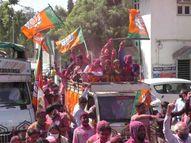 74 નગરપાલિકામાં ભાજપની સત્તા, કોંગ્રેસ માત્ર 2 ન.પા. પર સમેટાયું, જાણો ક્યાં સત્તાનું સમીકરણ બગાડી AIMIMએ રાજ્યમાં 16 બેઠક જીતી|પાલિકા-પંચાયત ચૂંટણી,Municipal Election - Divya Bhaskar