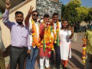 નગરપાલિકા, તાલુકા અને જિલ્લામાં ભાજપનો ભગવો, જાણો વિજેતાના નામ સાથે સંપૂર્ણ પરિણામ|પાલિકા-પંચાયત ચૂંટણી,Municipal Election - Divya Bhaskar