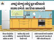બેકિંગ સોડા અને વિનેગરની મદદથી તમારું રસોડું ચમકાવો|હોમ ટિપ્સ,Home Tips - Divya Bhaskar
