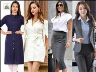 કોરોના મહામારીના સમયમાં પણ ઑફિસમાં સ્ટાઇલિશ લુક માટે પસંદ કરો આવાં વસ્ત્રો|ફેશન,Fashion - Divya Bhaskar