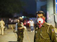 માથાકૂટ પ્રકરણનો આરોપી અને પોલીસકર્મી બંને પોઝિટિવ જામ ખંભાળિયા,Jamkhambhaliya - Divya Bhaskar