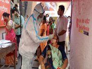 નર્મદામાં કોરોનાને નાથવા સુપર સ્પ્રેડરોનું ટેસ્ટિંગ રાજપીપળા,Rajpipla - Divya Bhaskar