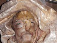 સોનગઢમાં બકરીએ વૃદ્ધ જેવો ચહેરો ધરાવતા બચ્ચાને જન્મ આપ્યો, ચાર પગ-કાન જ બકરી જેવા; બાકીનું શરીર માનવી જેવું|સોનગઢ,Songadh - Divya Bhaskar