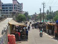 સ્વૈચ્છિક લોકડાઉન મહત્તમ સફળ, જીવનજરૂરી સામગ્રીઓની દુકાનો ચાલુ રહેતા રાહત|નવસારી,Navsari - Divya Bhaskar