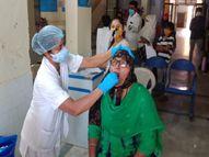 પાટણ સિવિલ હોસ્પિટલમાં કોરોના વેક્સિન અને ટેસ્ટીંગની લાઇનો લાગી, જિલ્લા વાસીઓ હવે જાગૃત બન્યા પાટણ,Patan - Divya Bhaskar